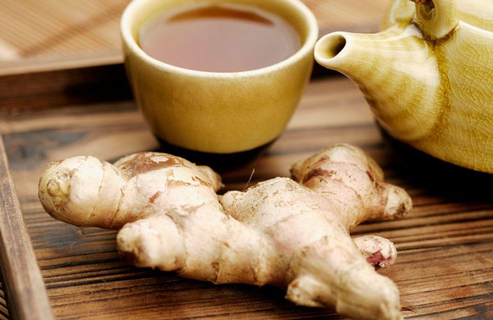 Elimina vertigini e nausea con il tè allo zenzero