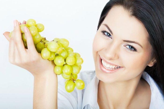 Maschera all'uva