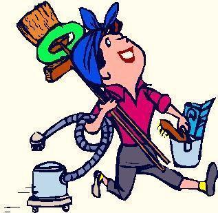 Calorie bruciate facendo le pulizie di casa