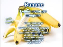 Le proprietà della banana e della sua buccia
