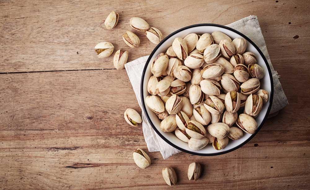 Benefici del consumo di pistacchi