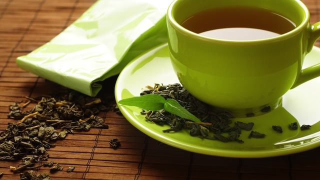 Tè verde per combattere lo stress