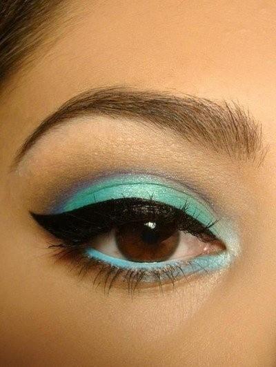 Occhi marroni e tutte le sfumature dell'iride