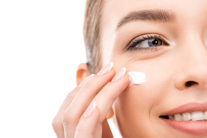 Crema per la pelle alla vitamina A.
