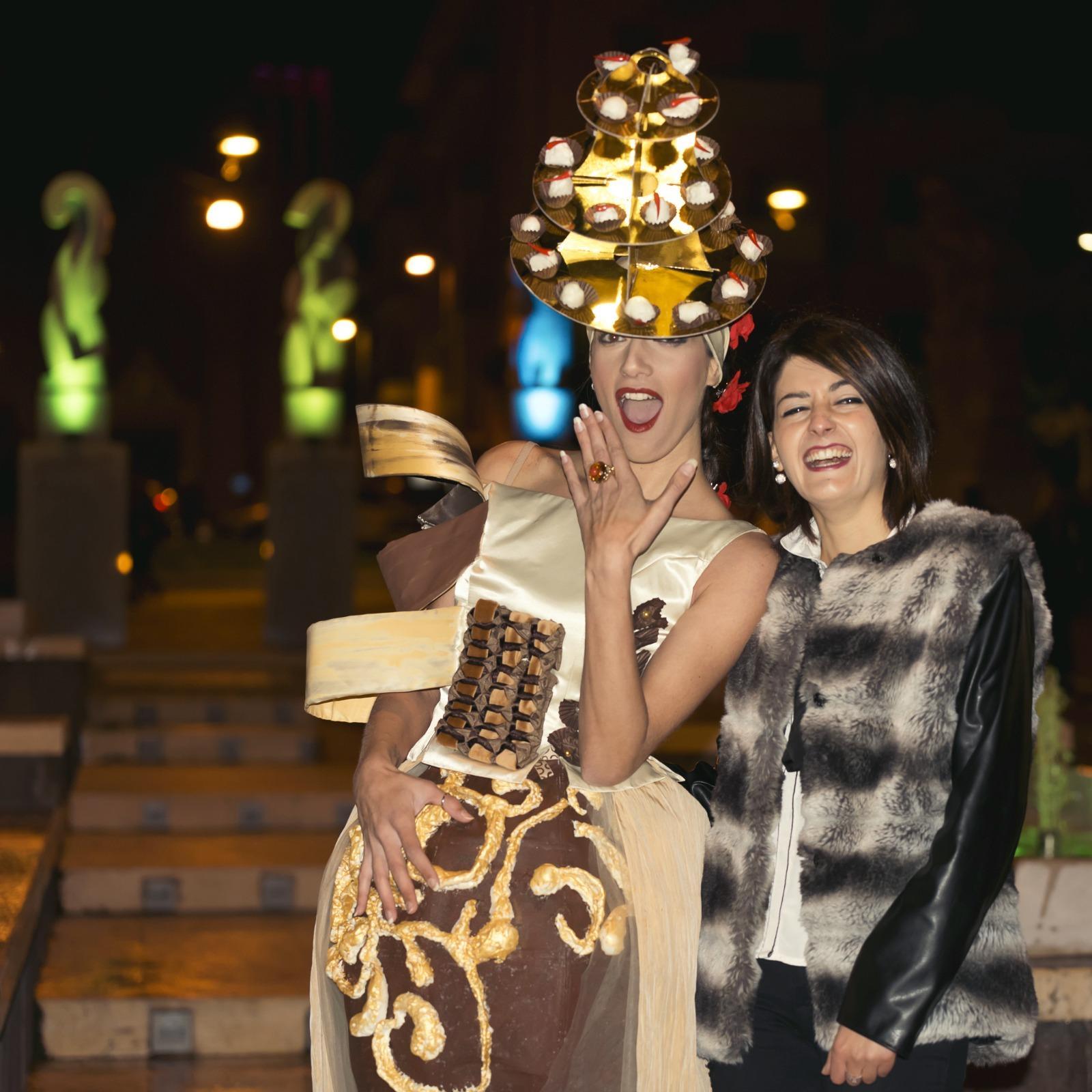 Il cioccolato e la moda: la stilista Conforto vince Fashion&Chocolate