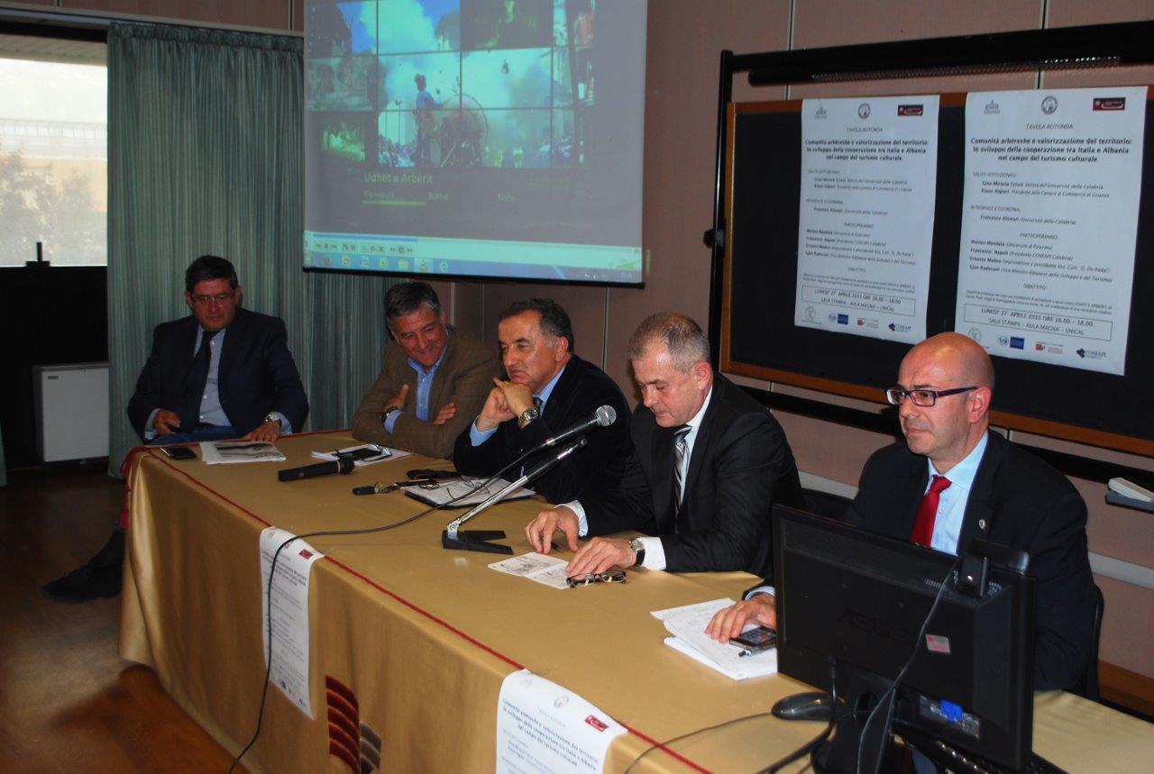 Calabria - Albania, nuove prospettive all'Unical