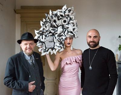 Il designer Giuseppe Fata e la sua MILANO HAUTE COUTURE  VISION
