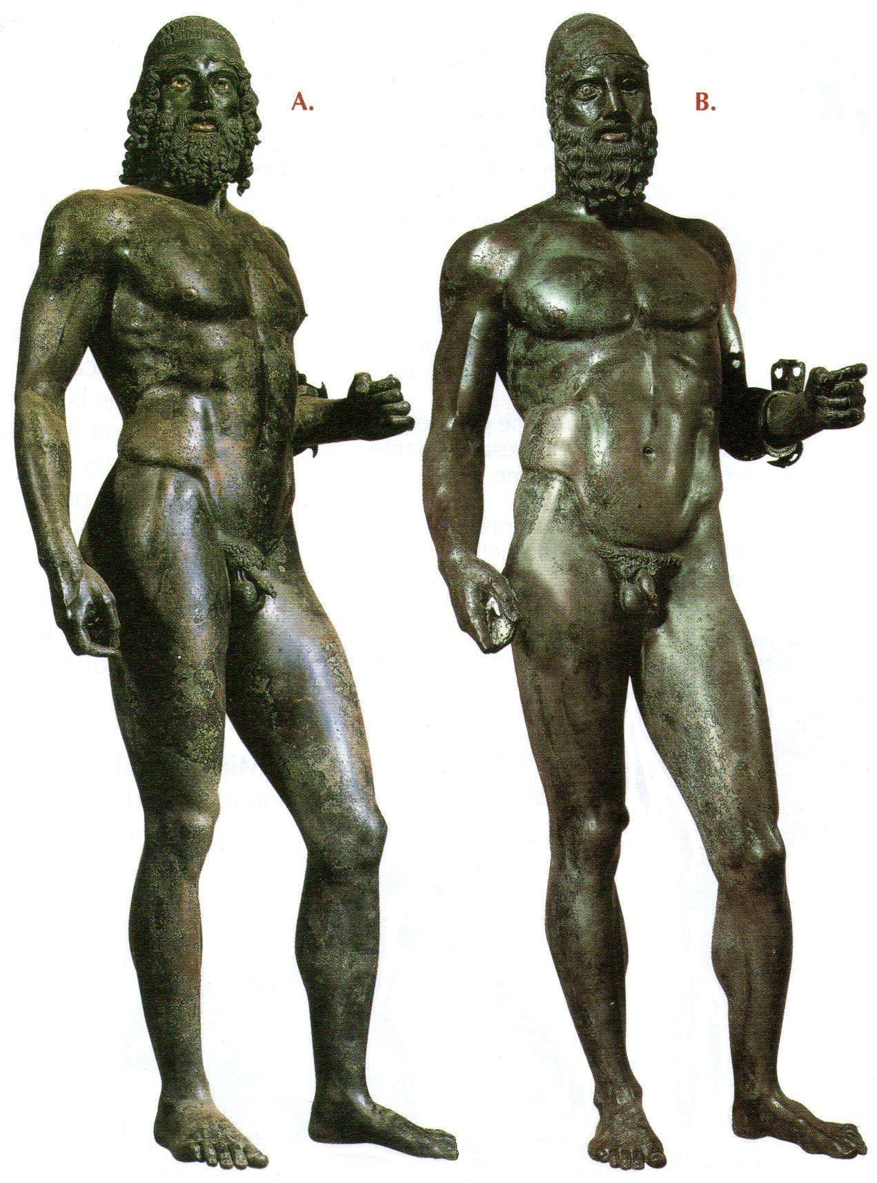 E i bronzi uscirono dal mare