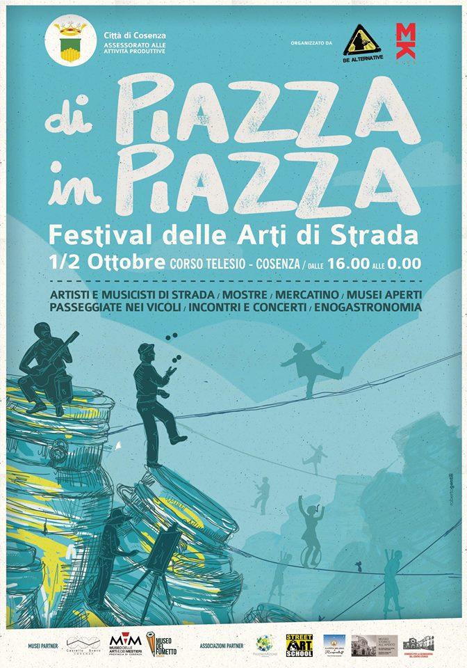 Festival degli artisti di strada a Cosenza