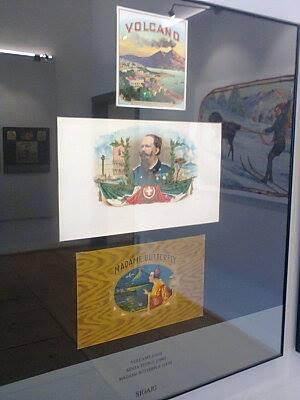 Palazzo Roccabruna: Etichette delle Montagne, in mostra