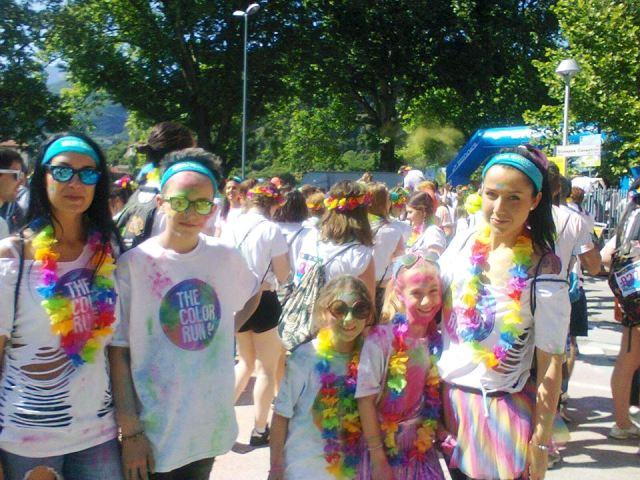 The Color Run 2016 a Trento: una manifestazione per le famiglie