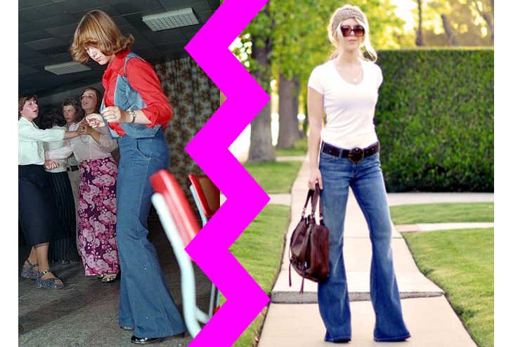 Pantaloni a zampa d'elefante: tutti i consigli per indossarli