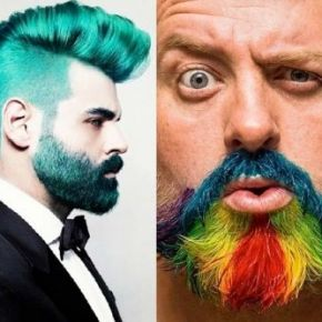 Barba: la moda la vuole colorata, datevi da fare!