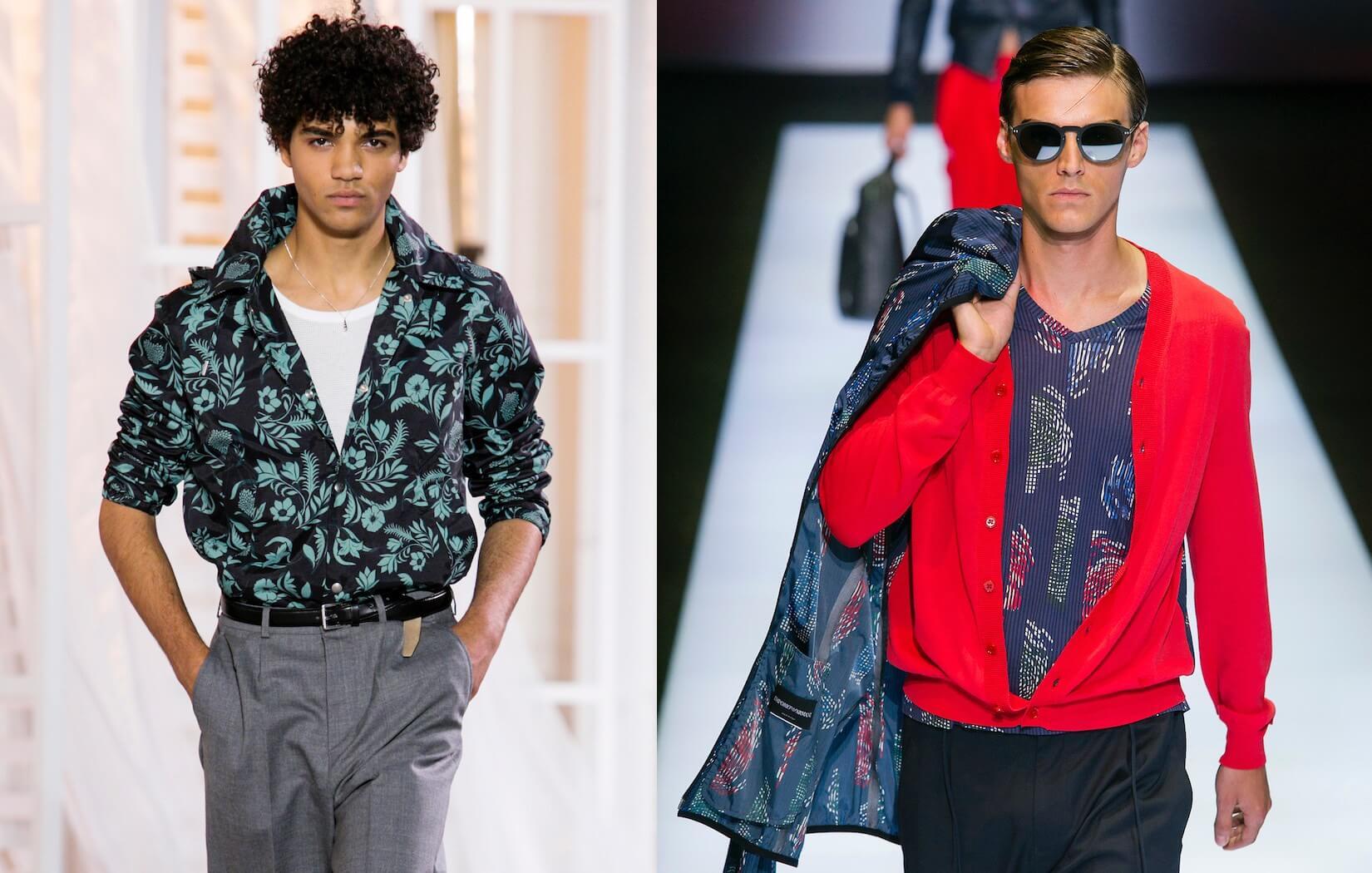 Uomo: bonton, skin, afro le tre tendenze base 2017