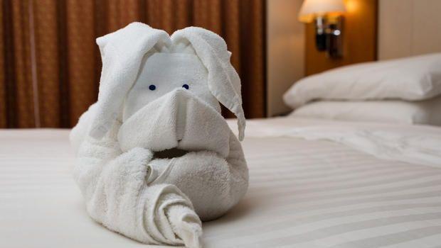 Come piegare gli asciugamani a forma di animali