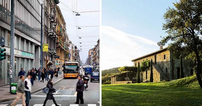 Vivere in città o periferia?