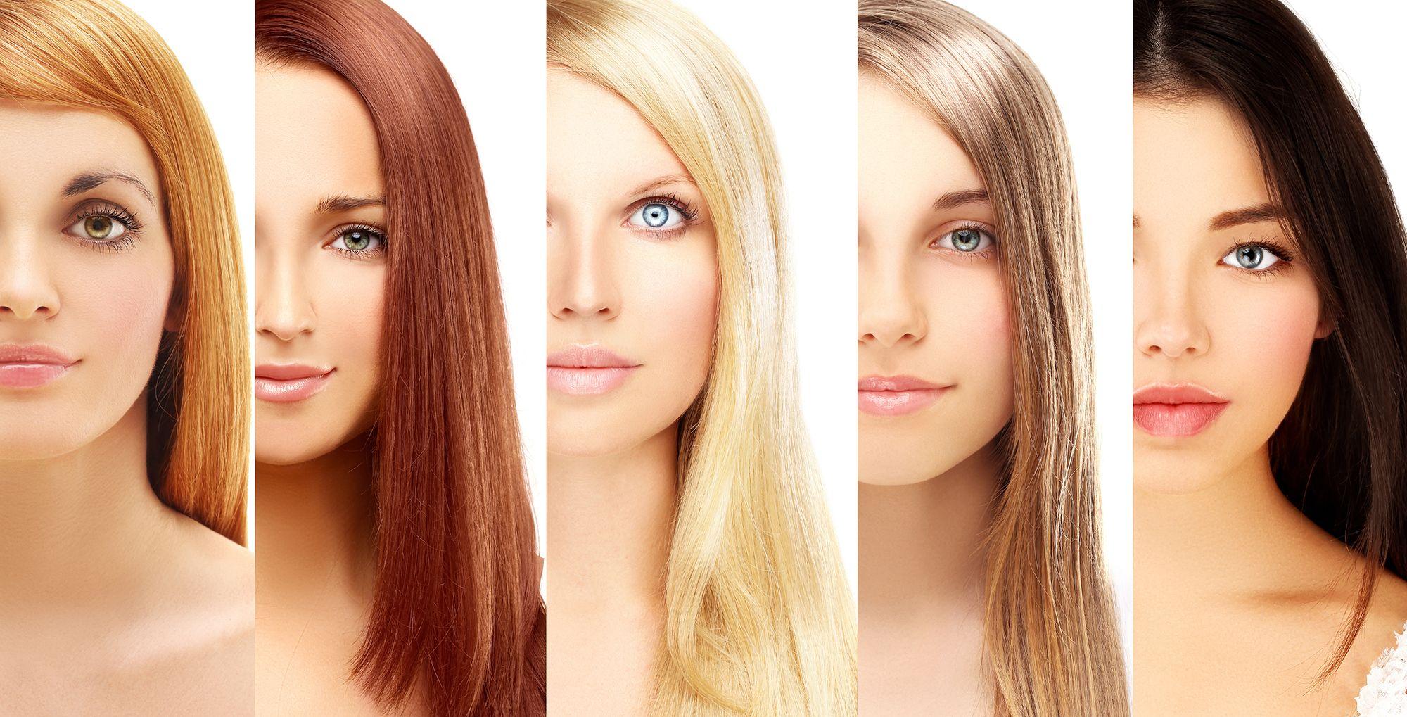 Come scegliere il colore dei capelli in base alla pelle