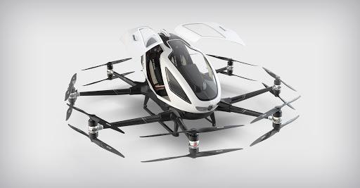 EHANG - la nuova Tesla volante
