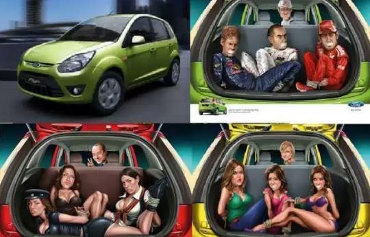Ford Fiesta India e il grandissimo bagagliaio