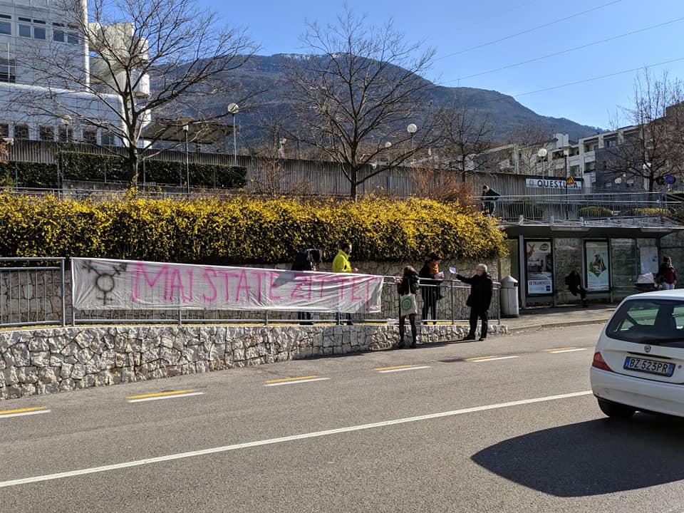 Il collettivo Queer a Trento contro la violenza