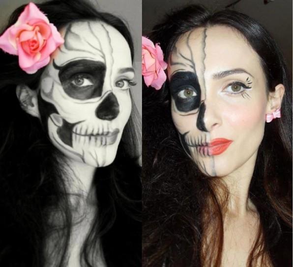 Halloween: trucco perfetto ma senza esagerare
