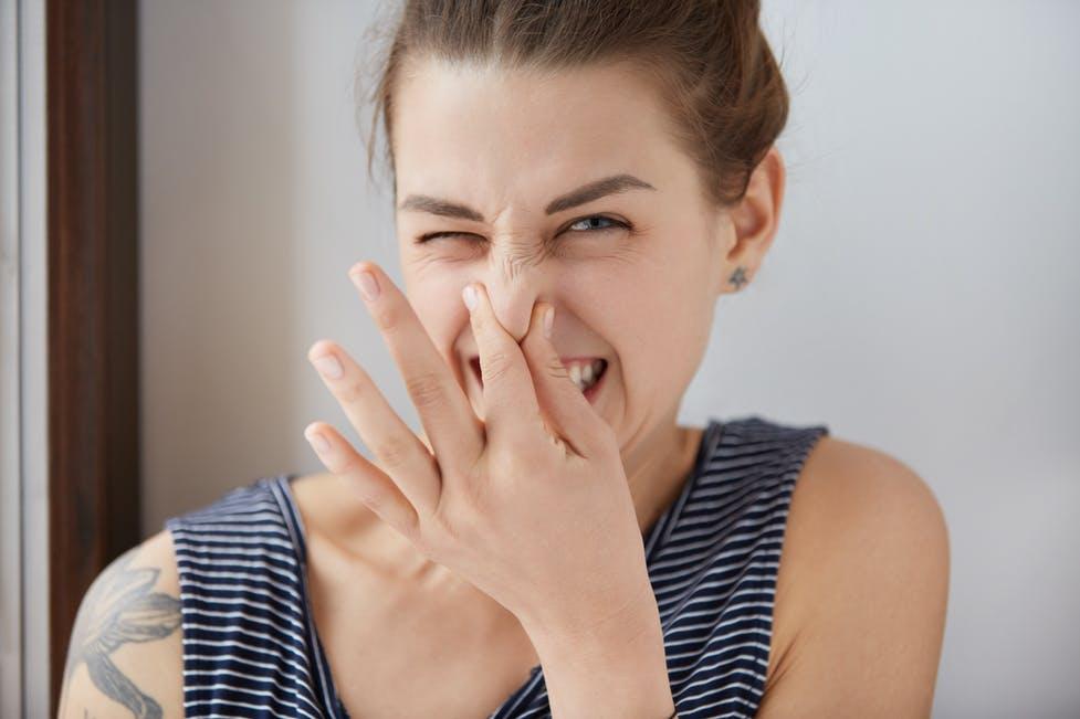 Cause del cattivo odore in bagno