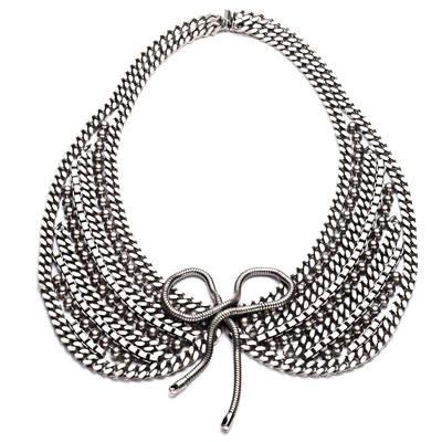 Il colletto gioiello: una moda che prende piede