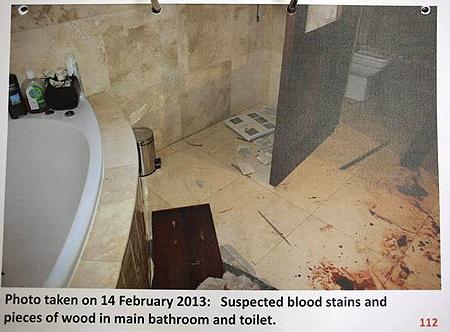 Oscar Pistorius: le armi in casa e le foto shock