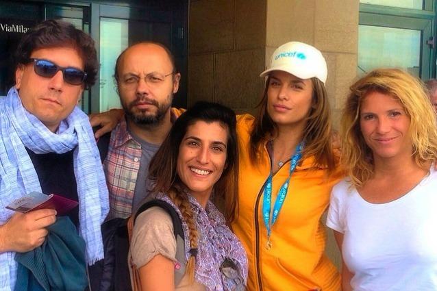Elisabetta Canalis: vola in Libano per i bambini