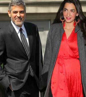George Clooney si sposa con la bella libanese
