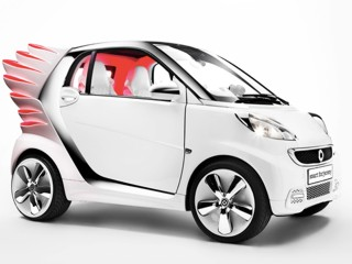 Auto & fashion: lanciata a Los Angeles la Smart di Jeremy Scott