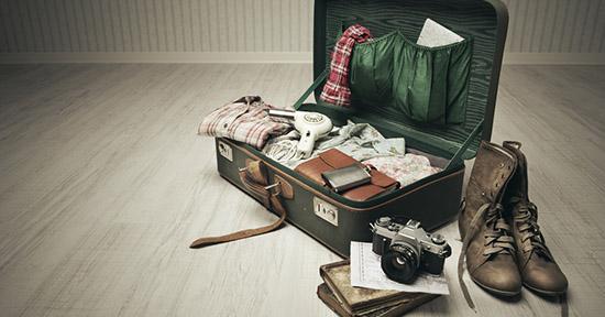 Come rimuovere il cattivo odore delle valigie