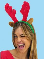 Moda: il cerchietto natalizio