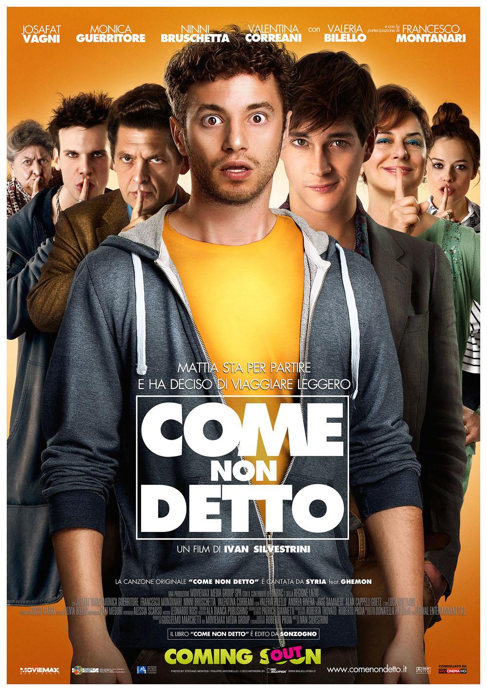 Come non detto... il coming out all'italiana!