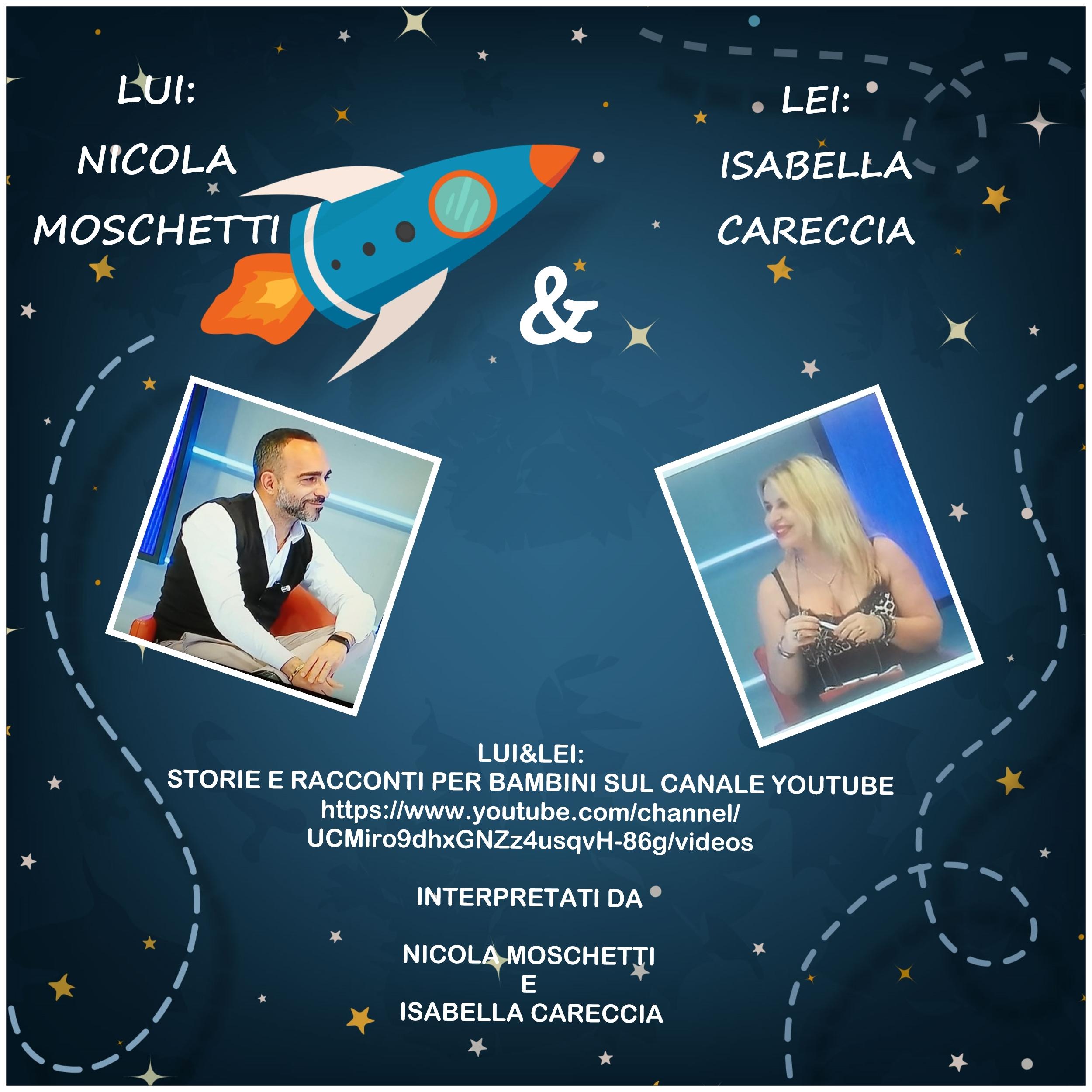 Nicola Moschetti e Isabella Careccia sono Lui&Lei