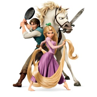 Rapunzel e la sua animazione in 3D