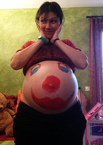 Elisa e la sua seconda gravidanza