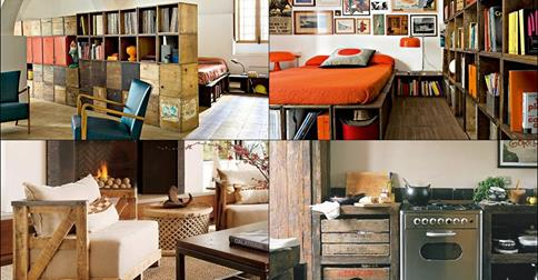 Idee creative per recuperare vecchi mobili