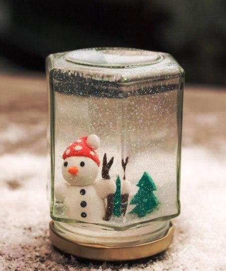 Come fare una palla di neve fatta in casa