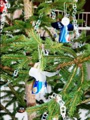 Decorazioni creative per l'albero di Natale