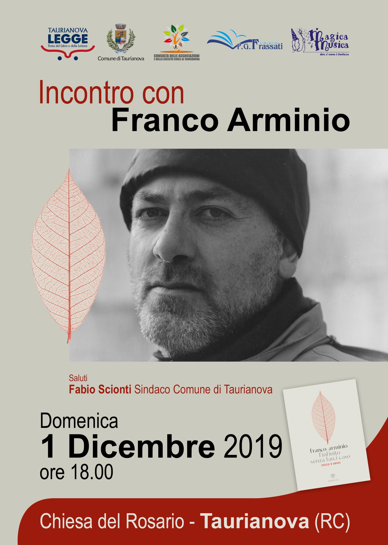 Taurianova legge: Incontro con Franco Arminio - 1 dicembre