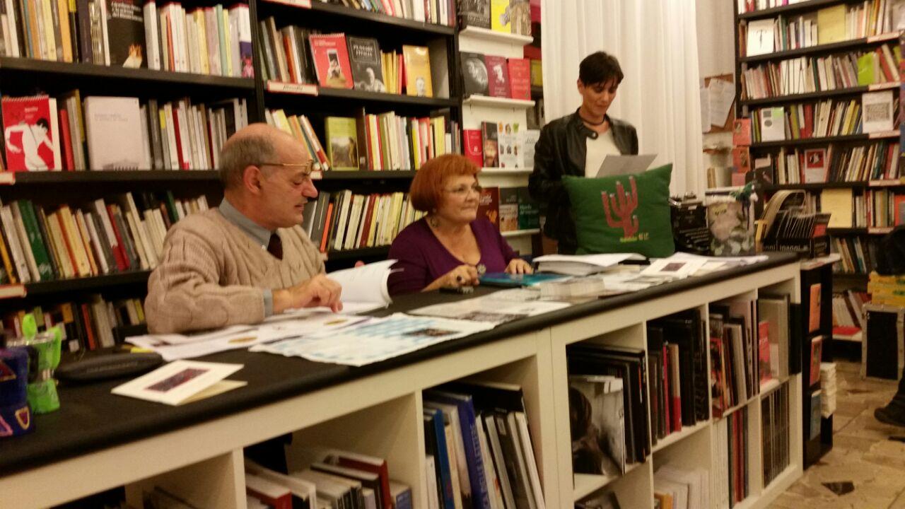 Emozioni sinestetiche alla libreria Odradek sabato 8 novembre