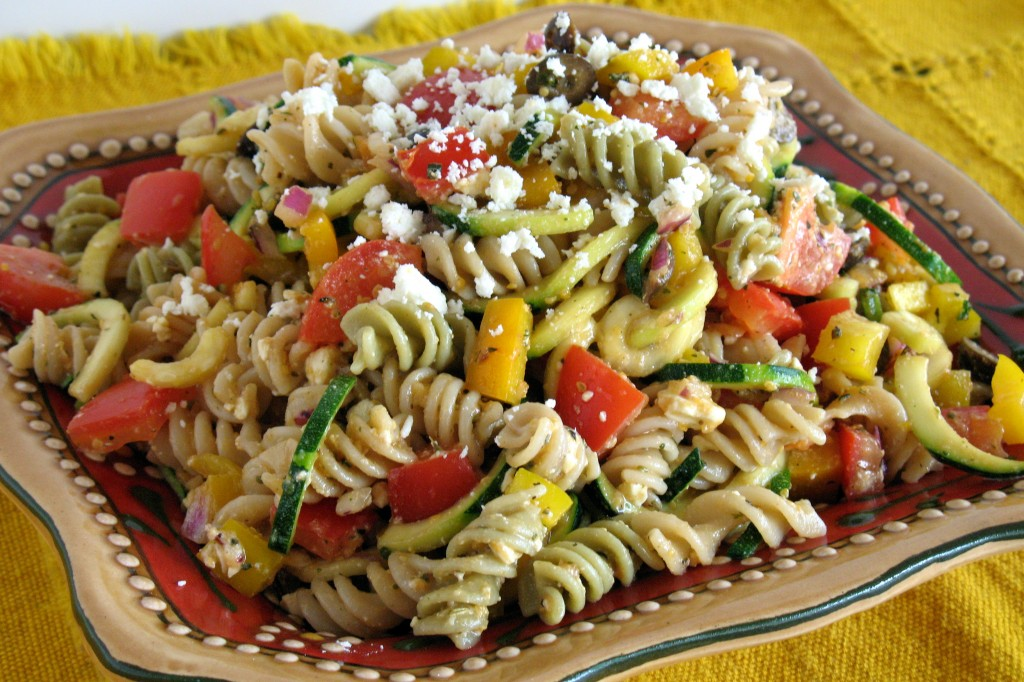 Fusilli all'insalata