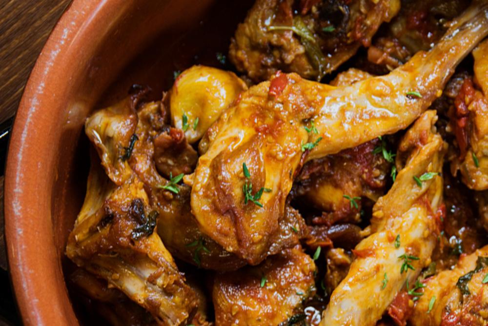 Coniglio all'aglio