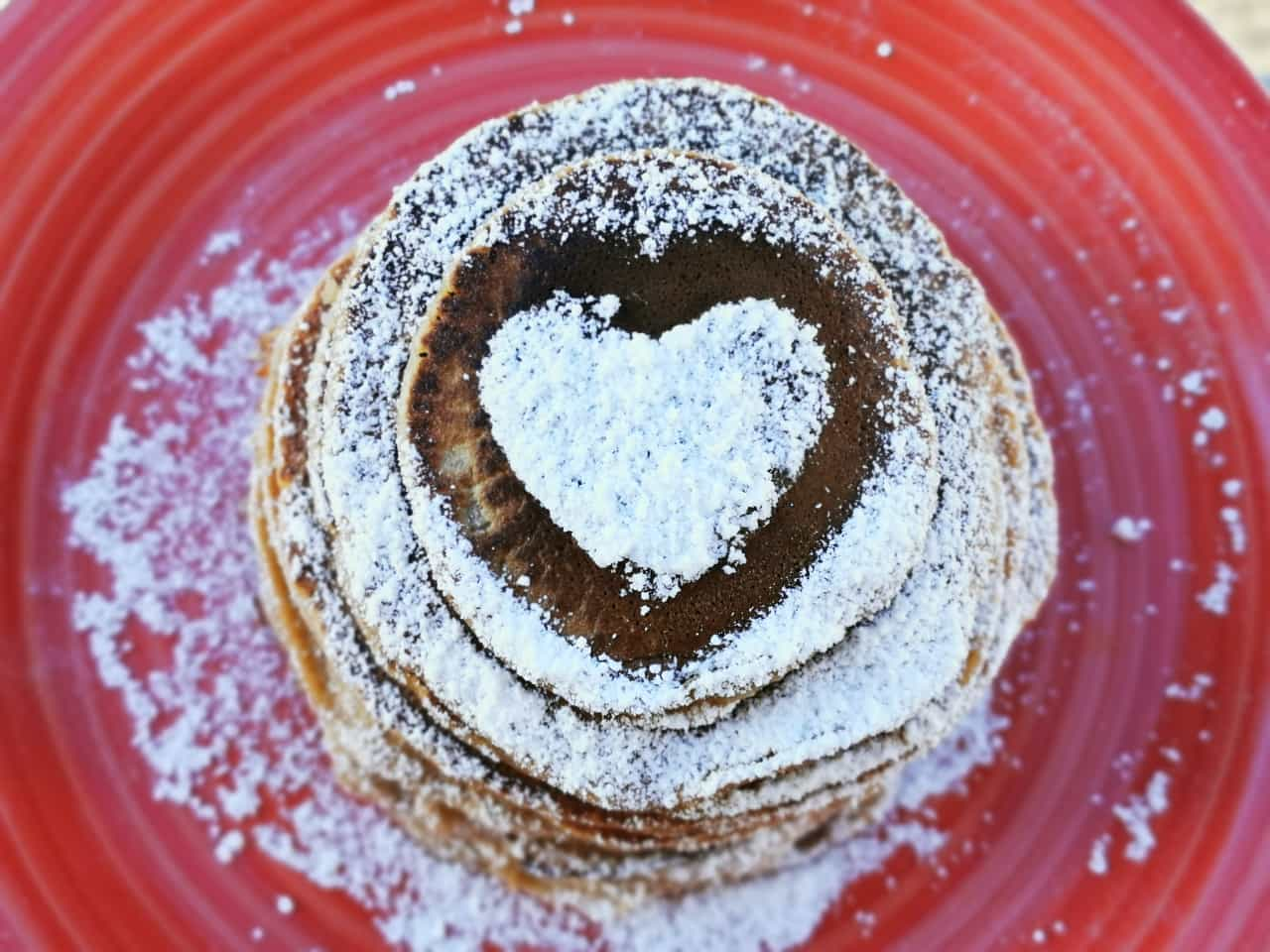 Ramy:Pancake pera e cacao