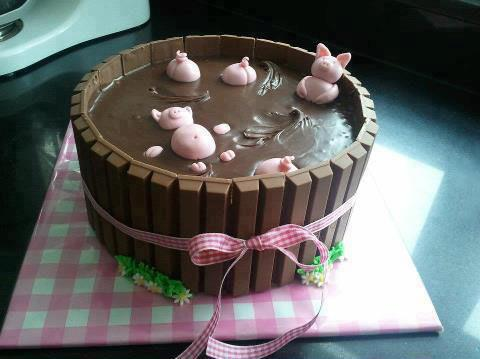 Una pazza torta per persone divertenti