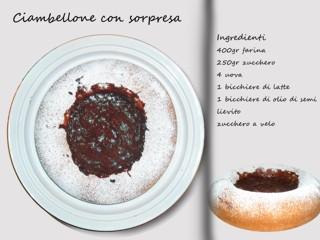 Bando alle diete: torta margherita ripiena di budino!