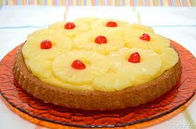 Crostata alla crema con Ananas e amarene