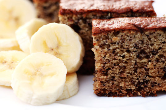 Torta di banane e cacao