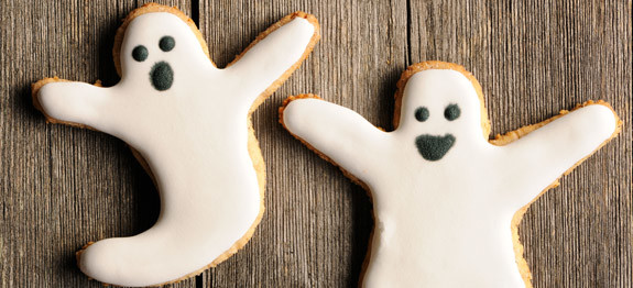 Come fare i biscotti fantasma per Halloween